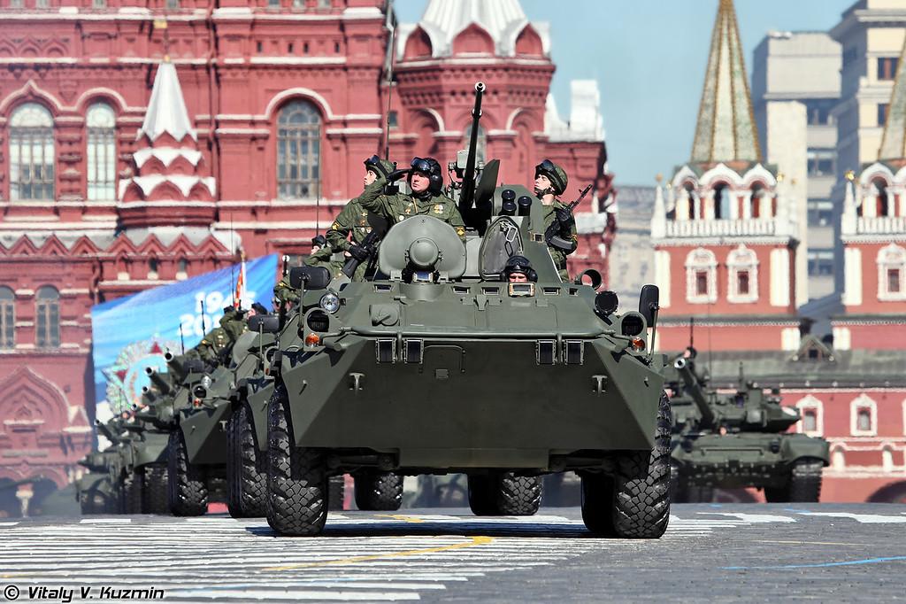 Бронетранспортер БТР-82А (BTR-82A APC)