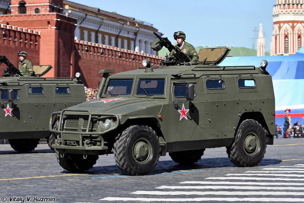 Специальное транспортное средство ГАЗ-233014 Тигр (GAZ-233014 Tigr)