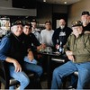 left to right,  Monte Samson, Jim Fort, Tim Milligan, Roy Pline, Pete Weeks, Gary Henry, Steve Wittenberg