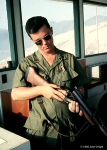 Senior Petty Officer with M-79 grenade launcher