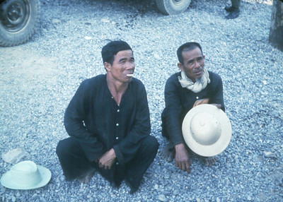 Suspected Viet Cong or VC sympathizers