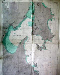 Chart, Cam Ranh Bay