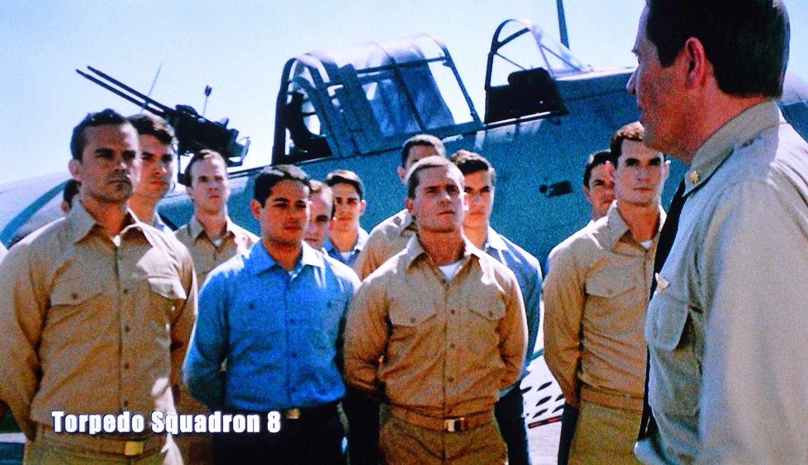 Torpedo Squadron 8 before Final Flight