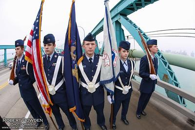 Wreaths Across America - Ambassador Bridge 2014