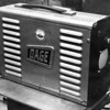 A close-up of the Dage camera in the film chain.  Most of our television programming passed through this little camera!