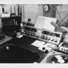 I believe this Gates control board and the turntables were salvaged from the Marine Bakery location and used in the Morin Center facility.  But most of the television gear was all new.