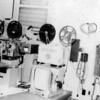 """Most of our programming was comprised of stateside TV shows that were put to film (""""kinescopes"""") and were delivered to us a few months after they had aired in the states.  Programs like """"Meet the Press"""" and other more time-sensitve shows were usually about a week or two old by the time we could air them."""