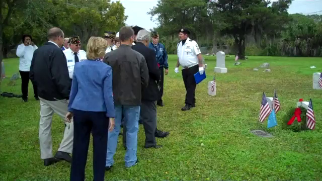 Gravesite of James W. Huff, a veteran of the Indian Wars. Mr Huff was awarded the Congressional Medal of Honor and a Purple Heart. He rests in the Pine Hill Cemetery in New Port Richey, Florida.