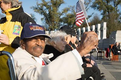 Veterans Day, National World War II Memorial