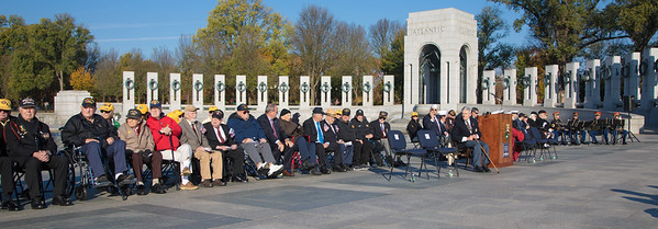Veterans Day, National World War II Memorial