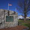 Dracut WWI monument in Hovey Square, at Hovey St and Rt 113. (SUN/Julia Malakie)