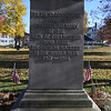 WWI monument at Vinal Square in North Chelmsford. (SUN/Julia Malakie)