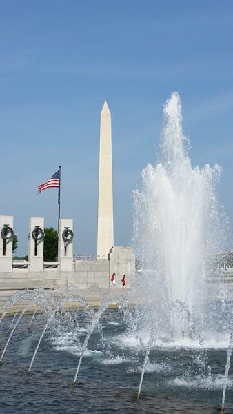 War Memorial in DC 2015