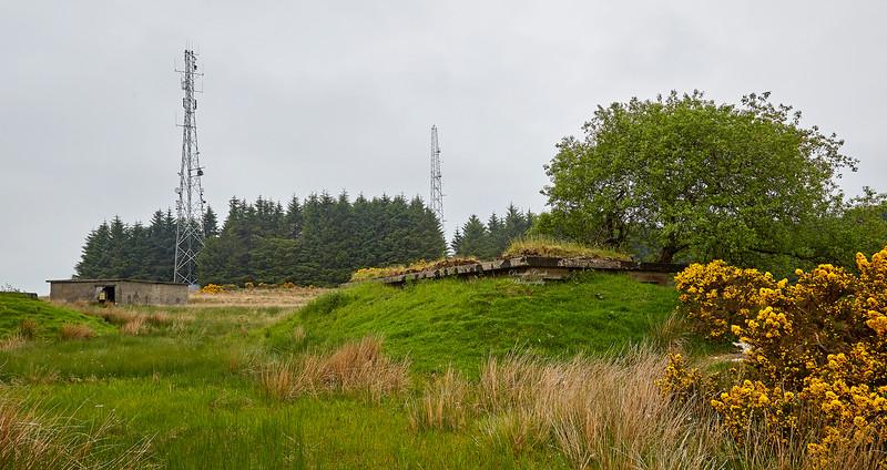 World War II Gun emplacements near Langbank - 31 May 2018
