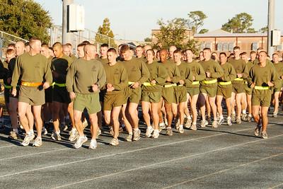 Photographer Andrew Ferguson on Warrior Day at Corry Station, Pensacola Florida.