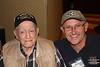 Charlie Testa WWII 22nd Battalion & son Ken