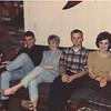 Scott Hoerr, Irv Hoerr, Cheryl, 'old wired' Larry Johson, Linda Hoerr Gardiner