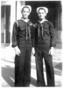 Photos provided by the family of William Edward Patterson Jr., FN1 USN<br /> <br /> Twin Brothers Frank Patterson and William Edward Patterson Jr., FN1 USN