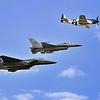 F-15E Strike Eagle, Mako F-18, P-51 mustang