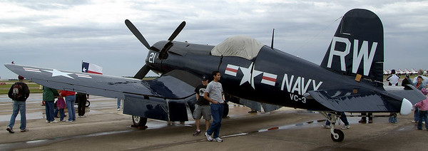 Voight F4U Corsair, Navy fighter during WWII