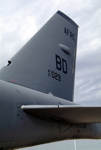 Tail section of a B-52