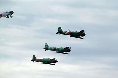 Japanese torpedo bombers