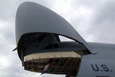 C-5A Gallaxy open cargo bay