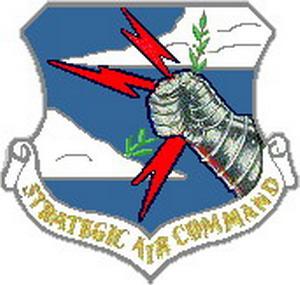 SAC Emblem   SAC kept enemies of the United States at bay for many years with the threat of retalitory nuclear strikes from B-52 or Minuteman missles.