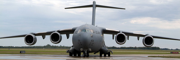 C-17 Globemaster front view