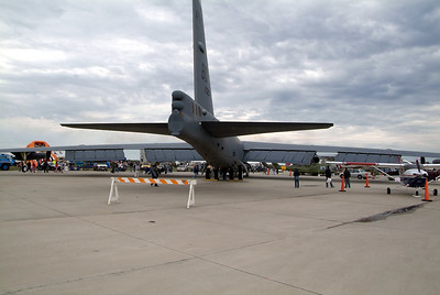 B-52 from the rear