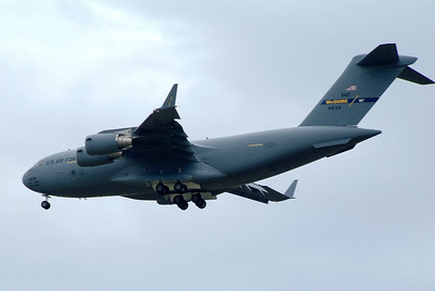 Landing the C-17