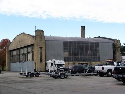 USCG Salem hanger