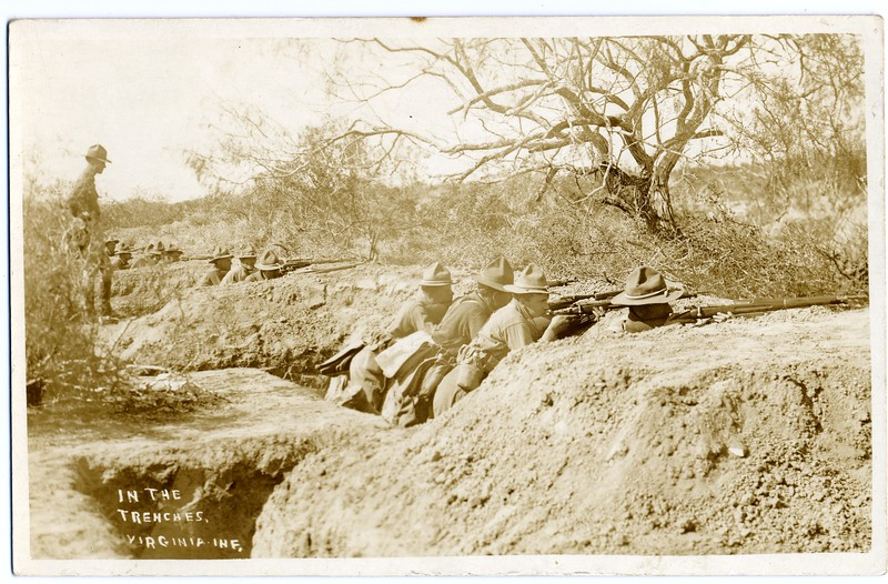 Lynchburg Musketeers in the Trenches (03265)