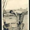 Unidentified Lynchburg Home Guardsman Doing Laundry (06235)