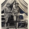 Unidentified Musketeers in front of Tent (03438)