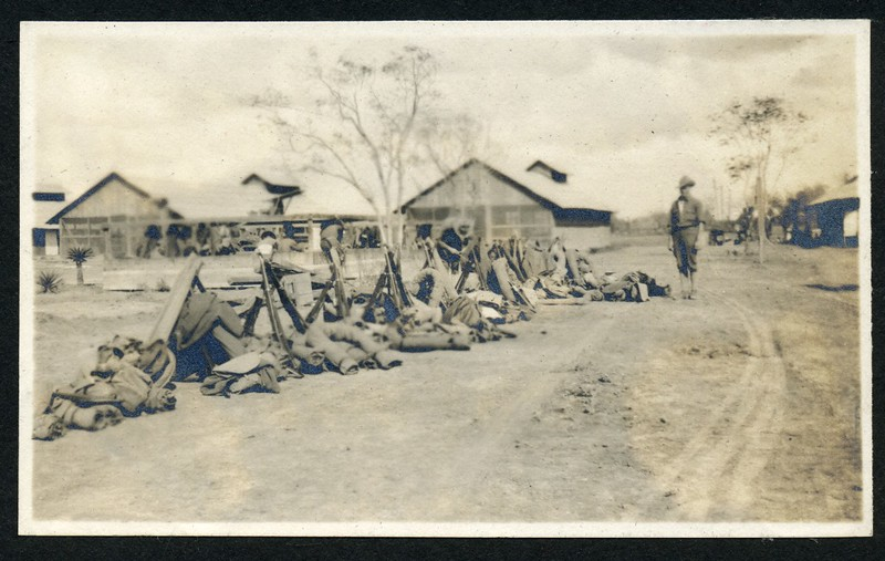 Lynchburg Home Guard Equipment with Stacked Arms  (06217)