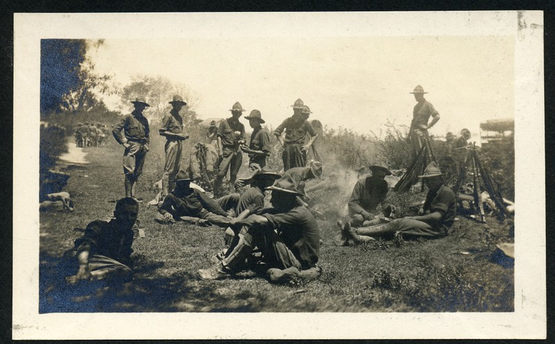 Lynchburg Home Guard Soldiers in Field (06263)