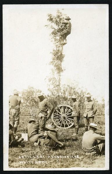 Artillery Headquarters/White Army  (06198)