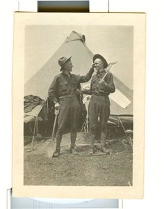 Lynchburg Musketeers  Charles MacLeod and John Baber (03234)