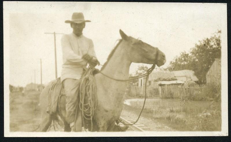 A Man on a Horse (06268)