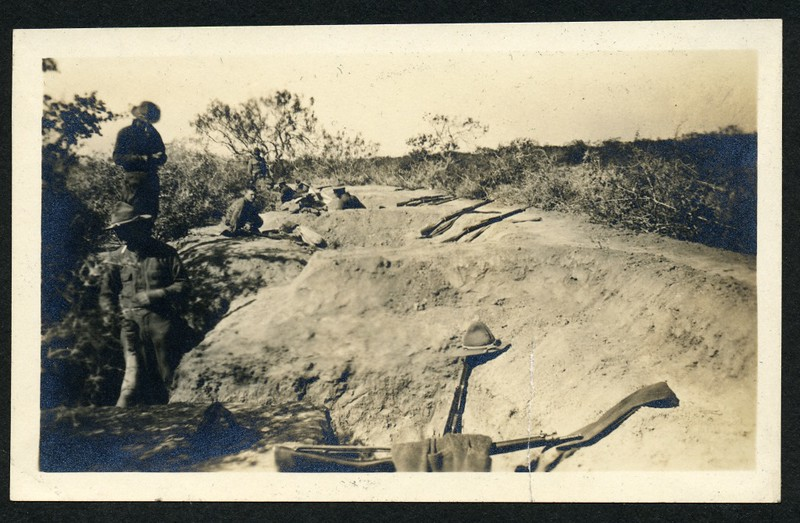 Lynchburg Home Guard in Trenches (06279)