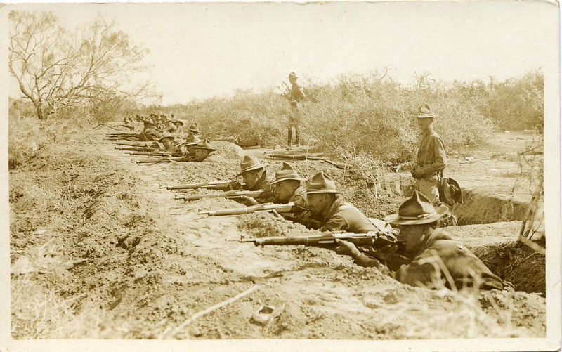 Lynchburg Musketeers Training in Texas I (03261)