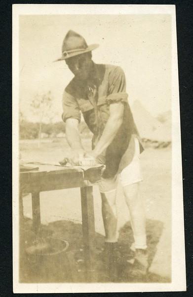 Lynchburg Home Guardsman Doing Laundry II (06238)
