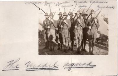 Lynchburg Musketeer Postcard III (00718)