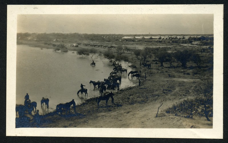 Lynchburg Home Guard Watering Horses (06260)