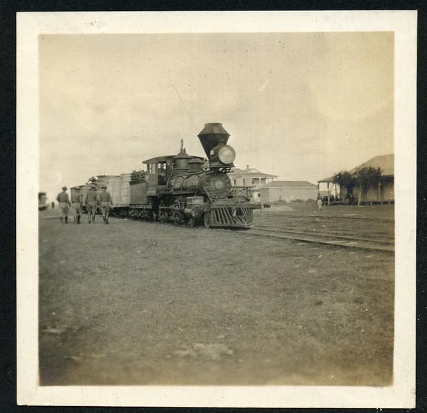 Lynchburg Home Guard and Train Engine (06271