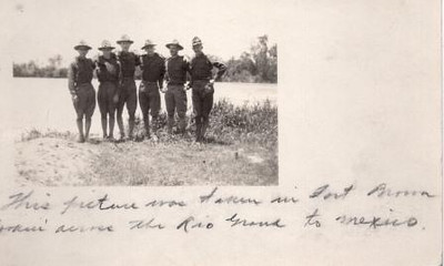 Lynchburg Musketeer Postcard II (00716)