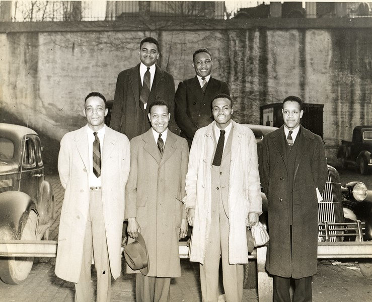 African-American Draftees, World War Two    XVII