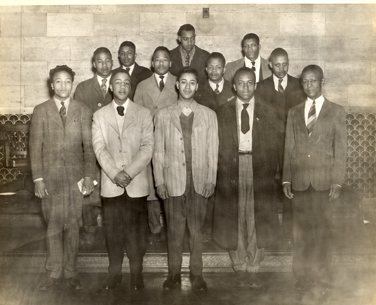 African-American Draftees, World Two    VIII
