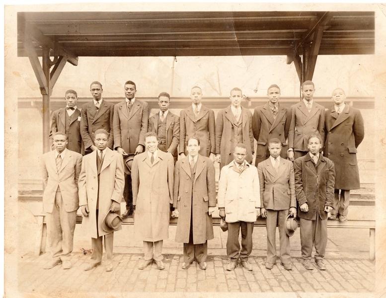 African American Draftees, World War Two    II  (09850)